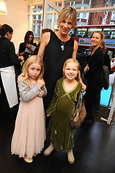 CYNTHIA CONRAN and her daughters IRIS (L) and ANGELICA (R)  at a party to celebrate the opening of Pincess Marie-Chantal of Greece's store 'Marie-Chantal' 133A Sloane Street, London on 14th October 2008.