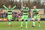 Forest Green Rovers v Lincoln City 020319