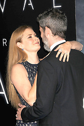 November 6, 2016 - Los Angeles, California, United States - November 6th 2016 - Los Angeles California USA -  Actress   AMY ADAMS, husband DARREN LE GALLO  at the 2016 ''Arrivals'' Premiere  held at the Regency Village Theater, Westwood  Los Angeles, CA (Credit Image: © Paul Fenton via ZUMA Wire)