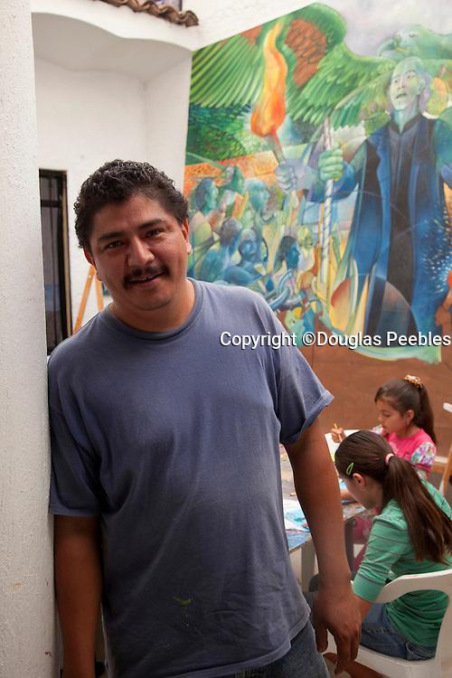 Efren Gonzalez, Efren Gonzalez Art Studio, Ajijic, Lake Chapala, Jalisco, Mexico