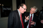 WILL HUTTON; DAVID DAVIS; , Vanity Fair, Baroness Helena Kennedy QC and Henry Porter launch ' The Convention on Modern Liberty'. The Foreign Press Association. Carlton House Terrace. London. 15 January 2009 *** Local Caption *** -DO NOT ARCHIVE-© Copyright Photograph by Dafydd Jones. 248 Clapham Rd. London SW9 0PZ. Tel 0207 820 0771. www.dafjones.com.<br /> WILL HUTTON; DAVID DAVIS; , Vanity Fair, Baroness Helena Kennedy QC and Henry Porter launch ' The Convention on Modern Liberty'. The Foreign Press Association. Carlton House Terrace. London. 15 January 2009