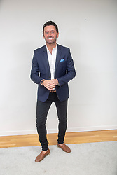 """Brian Matthews, star of the new Channel 4 series """"Sex Tape"""",  which starts at the end of April. Pic at home in Glasgow."""
