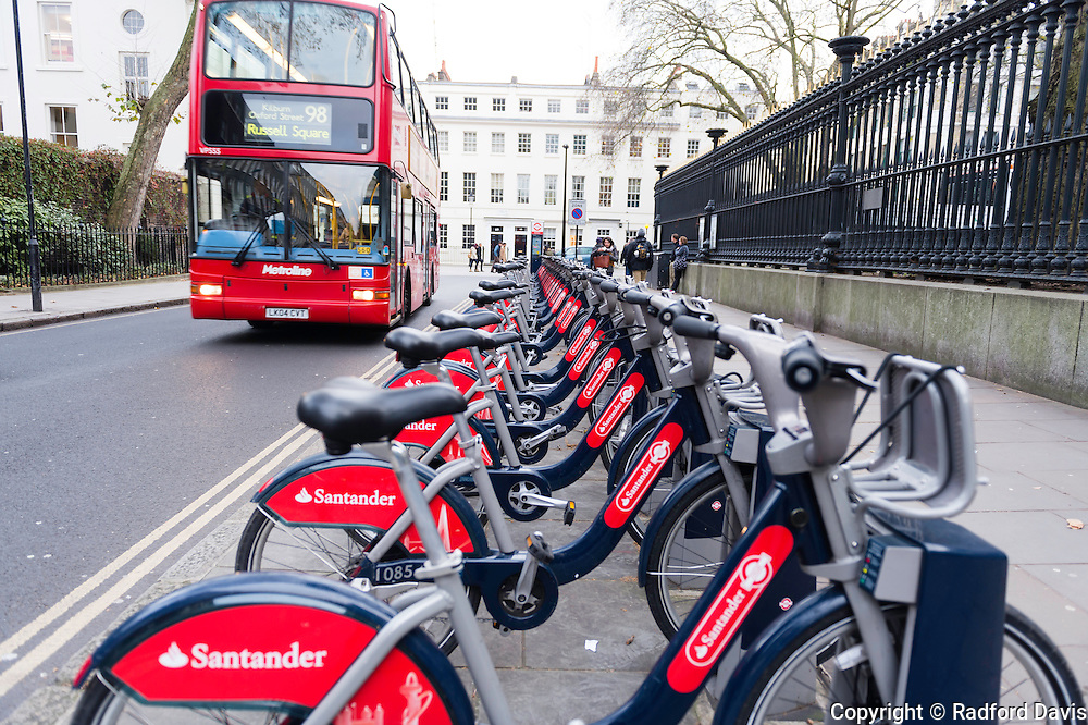 Rent a bicycle in London