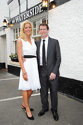 Two star Michelin chef ANDREW FAIRLIE and KATE RITCHIE at a party to celebrate The Waterside Inn's 25 years as a 3 star Michelin restaurant held at The Waterside Inn, Bray, Berkshire on 18th May 2010.