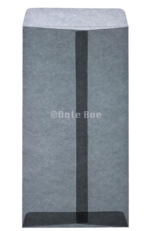 an open Japanese letter envelope