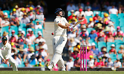 England's Joe Root is struck on the hand during day four of the Ashes Test match at Sydney Cricket Ground.