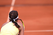 Roland Garros 2011. Paris, France. May 27th 2011..German player Julia GOERGES against Marion BARTOLI