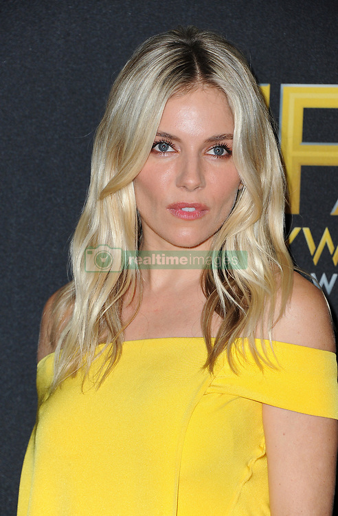 23rd Annual Hollywood Film Awards held at the Beverly Hilton Hotel in Beverly Hills. 03 Nov 2019 Pictured: Sienna Miller. Photo credit: Lumeimages / MEGA TheMegaAgency.com +1 888 505 6342