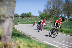 Amy Pieters (NED) of Boels-Dolmans Cycling Team descends during the Amstel Gold Race - Ladies Edition - a 126.8 km road race, between Maastricht and Valkenburg on April 21, 2019, in Limburg, Netherlands. (Photo by Balint Hamvas/Velofocus.com)
