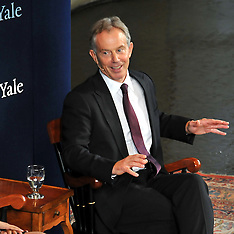 Tony Blair: A Conversation at Yale University