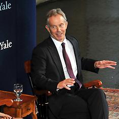 Tony Blair: A Conversation at Yale University