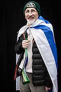 JAVIER CALVELO/  MONTEVIDEO/  ESTADIO CENTENARIO/ CLASIFICATORIAS SUDAMERICANAS MUNDIAL BRASIL 2014 / REPECHAJE MUNDIAL BRASIL 2014 - SERIE SUDAMERICA-ASIA/  PARTIDO DE VUELTA/ URUGUAY-JORDANIA<br /> Proyecto documental sobre la identidad, lo nacional, lo Uruguayo y el consumo. Se trata de retratos simples mirando a camara y con un fondo neutro. Les pregunto a los fotografiados como quieren ser recordados en el futuro y de que localidad son.<br /> El trabajo esta influenciado por la obra de August Sander pero tambien por Richard Avedon y Manuel Alvarez Bravo. <br /> El titulo esta basado en la obra de Raymond Firth, Tipos Humanos. (Raymond William Firth, ( 1901-2002) fue un etnólogo neozelandés profesor de Antropología en la London School of Economics, es uno de los fundadores de la antropología económica británica). <br /> En la foto:  Tipos Humanos en el Estadio Centenario, Tribuna Colombes, Eduardo Marti. Foto: Javier Calvelo <br /> emarti@outlook.com<br /> 2013-11-20 dia miercoles