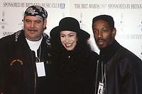 The BRIT Awards Launch 1993 <br /> Monday 11 Jan 1993.<br /> The Hard Rock Cafe, London, England<br /> Photo: JM Enternational