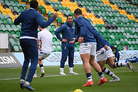 Rugby Union - 2020 / 2021 Gallagher Premiership - Round 14 - Northampton Saints vs Bristol Bears - Franklin Gardens<br /> <br /> Bristol Bears' Head Coach Pat Lam looks on during the pre match warm up.<br /> <br /> COLORSPORT/ASHLEY WESTERN
