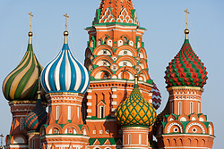 stock photo of the saint basil's cathedral