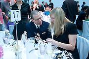 JONATHAN NEWHOUSE; SARAH BURTON, Glamour Women of the Year Awards 2011. Berkeley Sq. London. 9 June 2011.<br /> <br />  , -DO NOT ARCHIVE-© Copyright Photograph by Dafydd Jones. 248 Clapham Rd. London SW9 0PZ. Tel 0207 820 0771. www.dafjones.com.