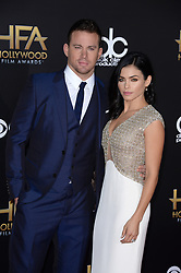 Jenna Dewan-Tatum and Channing Tatum attend the 18th Hollywood Film Awards 2014 held at the Hollywood Palladium in Hollywood, Los Angeles, CA, USA on November 14, 2014. Photo by Lionel Hahn/ABACAPRESS.COM