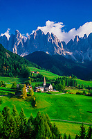 St. Magdalena, Dolomites, Sudtirol Region, Northern Italy