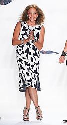 Designer  Diane Von Furstenberg at the end of her show  at  New York Fashion Week  Sunday, 9th September 2012. Photo by: Stephen Lock / i-Images
