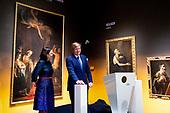 Koning opent tentoonstelling Utrecht, Caravaggio en Europa