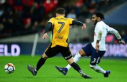 Danny Rose of Tottenham Hotspur - Mandatory by-line: Alex James/JMP - 07/02/2018 - FOOTBALL - Wembley Stadium - London, England - Tottenham Hotspur v Newport County - Emirates FA Cup fourth round proper