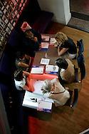 UTRECHT - Conferentie. ANP PHOTO COPYRIGHT GERRIT DE HEUS