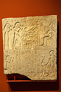 Limestone Relief from tomb of Meri-re. New Kingdom 18th Dynasty reign of Amenhotep III 1410-1372 BC