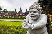 Balinese statue at Ulun Danu Beratan Temple, Bali, Indonesia