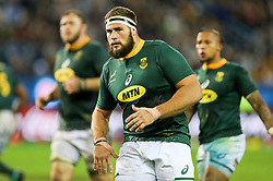 Thomas du Toit of South Africa- Mandatory by-line: Steve Haag/JMP - 23/06/2018 - RUGBY - DHL Newlands Stadium - Cape Town, South Africa - South Africa v England 3rd Test Match, South Africa Tour