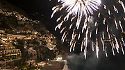 Colorful Buildings in Positano<br />