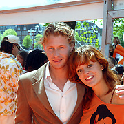 NLD/Amsterdam/20070519 - Inloop Kids Choice Awards 2007, Ewout Genemans en Juliette van Ardenne