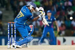 © Licensed to London News Pictures. 01/10/2012. Sri Lankan Mahela Jayawardene batting during the T20 Cricket World super 8's match between England Vs Sri Lanka at the Pallekele International Stadium Cricket Stadium, Pallekele. Photo credit : Asanka Brendon Ratnayake/LNP