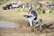 Gary Kepple navigating mud pit during day 1 at 2010 Rawhyde Adventure Rider Challenge
