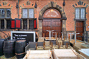 Nederland, Nijmegen, 25-10-2020 In de stad is het stil en leeg vanwege de verscherpte coronamaatregelen die de horeca op slot hebben gedaan .Foto: ANP/ Hollandse Hoogte/ Flip Franssen