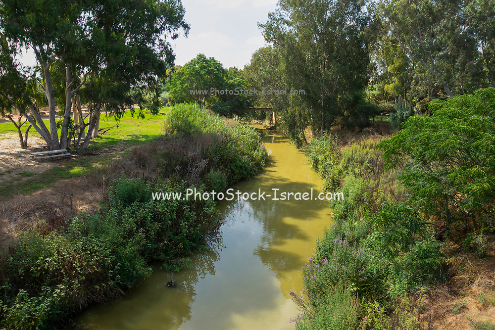 Nahal Alexander (Alexander stream or River) is a river in Israel that flows from the western side of the Samaria mountain belt in the West Bank to the Mediterranean Sea, north of Netanya. The length of the river is about 45 km. Nahal Alexander is the habitat of soft-shell turtles that can reach a size of 1.20 meters and weigh up to 50 kilograms.