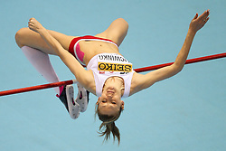 07.03.2014, Ergo Arena, Sopot, POL, IAAF, Leichtathletik Indoor WM, Sopot 2014, Tag 1, im Bild Kamilia Licwinko (POL) // Kamilia Licwinko (POL) during day one of IAAF World Indoor Championships Sopot 2014 at the Ergo Arena in Sopot, Poland on 2014/03/07. EXPA Pictures © 2014, PhotoCredit: EXPA/ Newspix/ Tomasz Jastrzebowski<br /> <br /> *****ATTENTION - for AUT, SLO, CRO, SRB, BIH, MAZ, TUR, SUI, SWE only*****