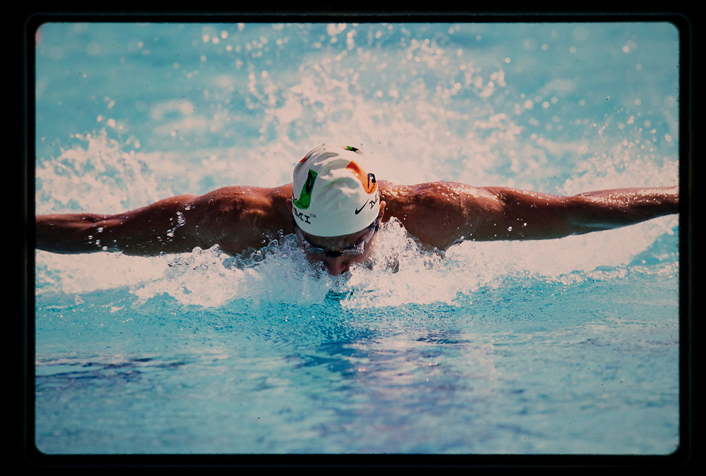 1998 Miami Hurricanes Swimming & Diving - Caneshooter Archive Scans 2020