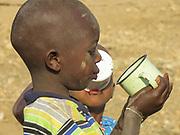 Madagascar, a portrait of a curious young Madagascan boy