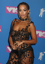 August 20, 2018 - New York City, New York, U.S. - Singer RITA ORA attends the arrivals for the 2018 MTV 'VMAS' held at Radio City Music Hall. (Credit Image: © Nancy Kaszerman via ZUMA Wire)