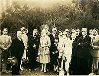1923 Artie Mason Carter and others at the Hollywood Bowl