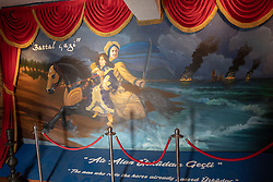 Mural, Maiden's Tower, Istanbul