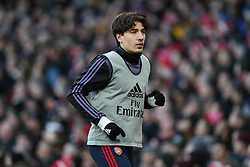 Hector Bellerin of Arsenal returned to the squad after injury  - Mandatory by-line: Arron Gent/JMP - 18/01/2020 - FOOTBALL - Emirates Stadium - London, England - Arsenal v Sheffield United - Premier League