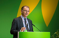 DEU, Deutschland, Germany, Berlin, 24.11.2018: Philippe Lamberts, Co-President of the Greens/EFA group in the European Parliament. Council of the European Green Party (EGP council) at Deutsche Telekom Representative Office.