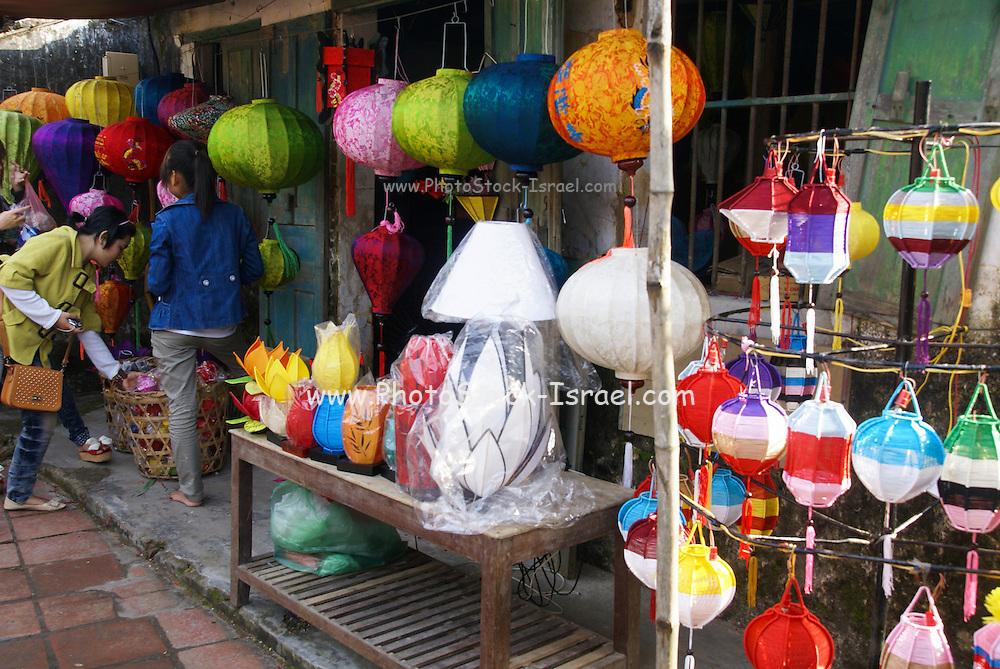 Vietnam, Hoi An Old town Lanterns