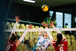 VELIKONJA GRBAC Mirta of Slovenian national team during volleyball match between Slovenia and Austria in CEV Volleyball European Silver League 2021, on 6 of June, 2021 in Dvorana Ljudski Vrt, Maribor, Slovenia. Photo by Blaž Weindorfer / Sportida