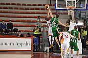 DESCRIZIONE : Roma Lega A 2014-15 <br /> Acea Virtus Roma - Sidigas Avellino <br /> GIOCATORE : Marc Trasolini<br /> CATEGORIA : stoppata tecnica controcampo <br /> SQUADRA : Sidigas Avellino <br /> EVENTO : Campionato Lega A 2014-2015 <br /> GARA : Acea Virtus Roma - Sidigas Avellino <br /> DATA : 04/04/2015<br /> SPORT : Pallacanestro <br /> AUTORE : Agenzia Ciamillo-Castoria/GiulioCiamillo<br /> Galleria : Lega Basket A 2014-2015  <br /> Fotonotizia : Roma Lega A 2014-15 Acea Virtus Roma - Sidigas Avellino