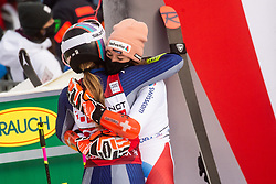 Winner Marta Bassino (ITA) and second placed Michelle Gisin (SUI) during 2nd Run of Ladies' Giant Slalom at 57th Golden Fox event at Audi FIS Ski World Cup 2020/21, on January 17, 2021 in Podkoren, Kranjska Gora, Slovenia. Photo by Vid Ponikvar / Sportida