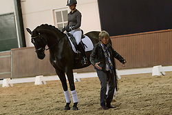 From basic trot and canter to piaffe and pirouette by Kyra Kyrklund assisted by Sarah Millis<br /> Global Dressage Forum<br /> Academy Bartels - Hooge Mierden 2011<br /> © Dirk Caremans