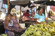 Food market in Madagascar