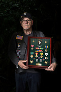 Veteran Man with medals